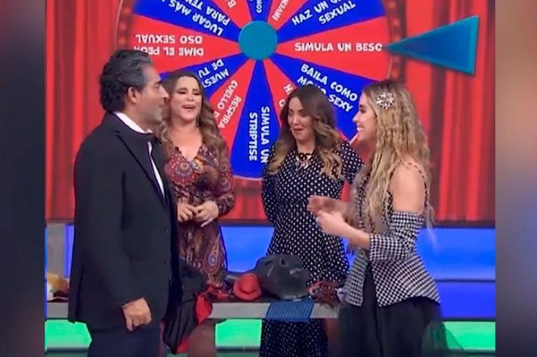 En pleno programa de 'Hoy', Andrea Escalona y 'El Negro' Araiza ¡se 'besan'!