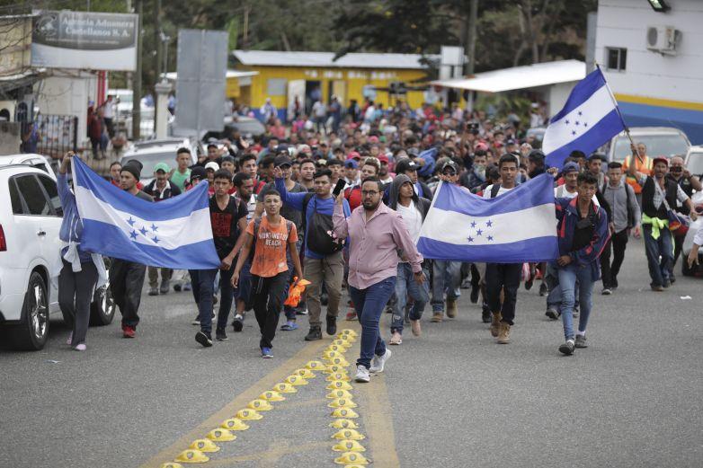 Atiende GN y Migración a nueva carava de centroamericanos