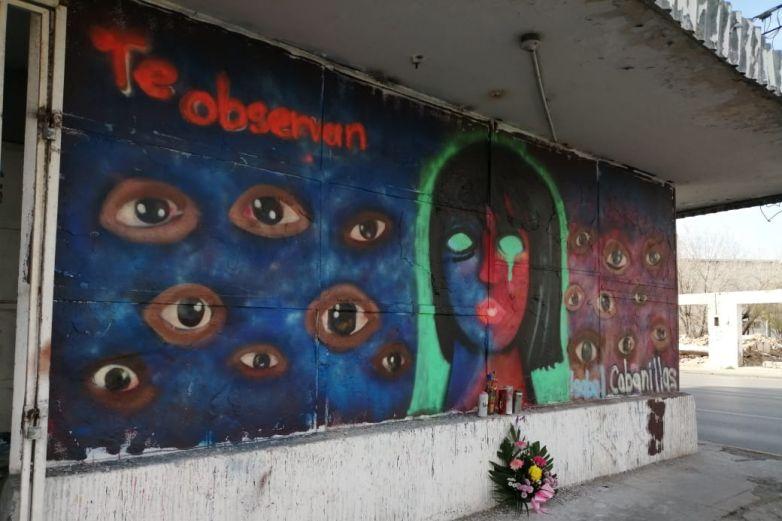 Con murales rinden homenaje a Isabel Cabanillas
