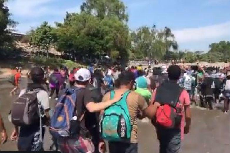 Ebrard informará sobre situación en frontera sur: AMLO