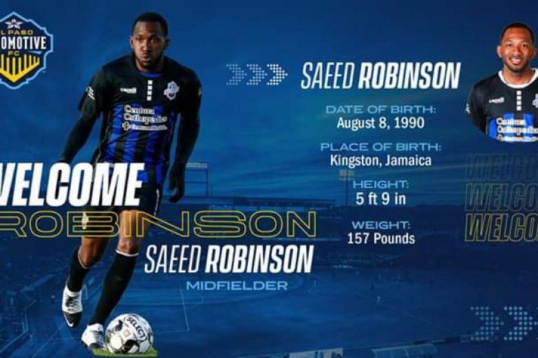 Locomotive firma a Saeed Robinson