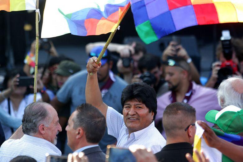 Desde Argentina, Evo Morales sigue defendiendo su legado
