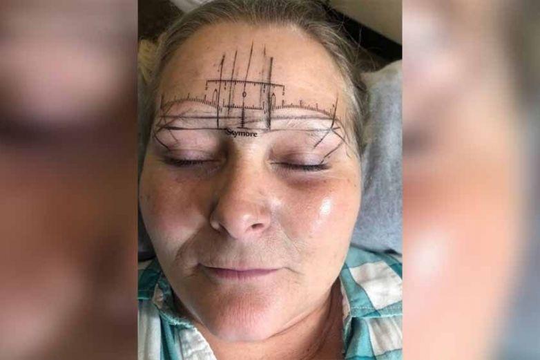 Microblading sale mal y mujer termina con 'monstruosas' cejas