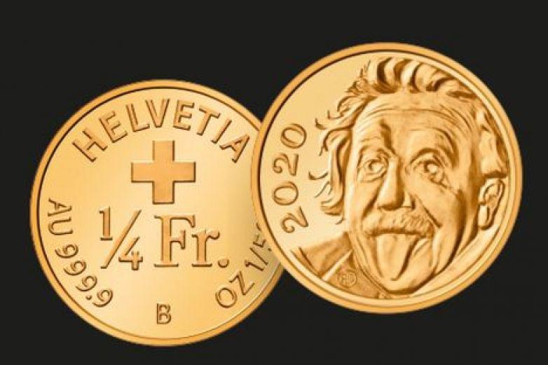 Emite Suiza la moneda de oro más pequeña del mundo