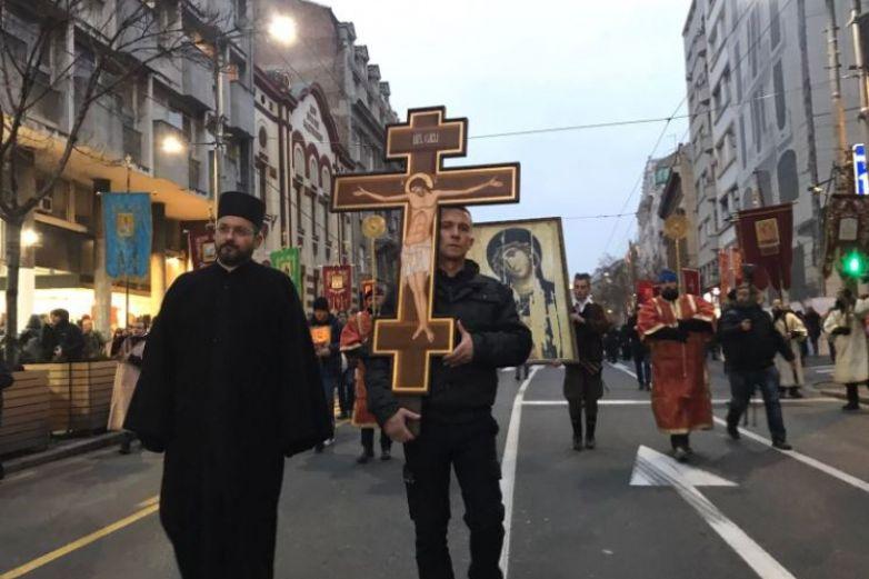Protestan en Montenegro contra ley de libertad religiosa