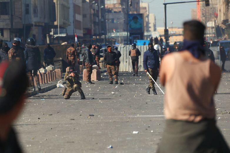 Ataque con mortero a embajada de EU en Bagdad deja un herido