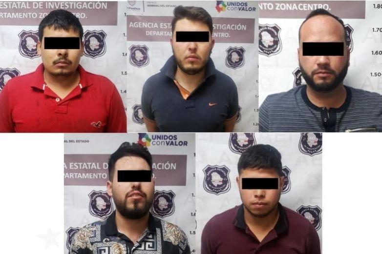 Detienen a célula criminal 'Los Chapos'