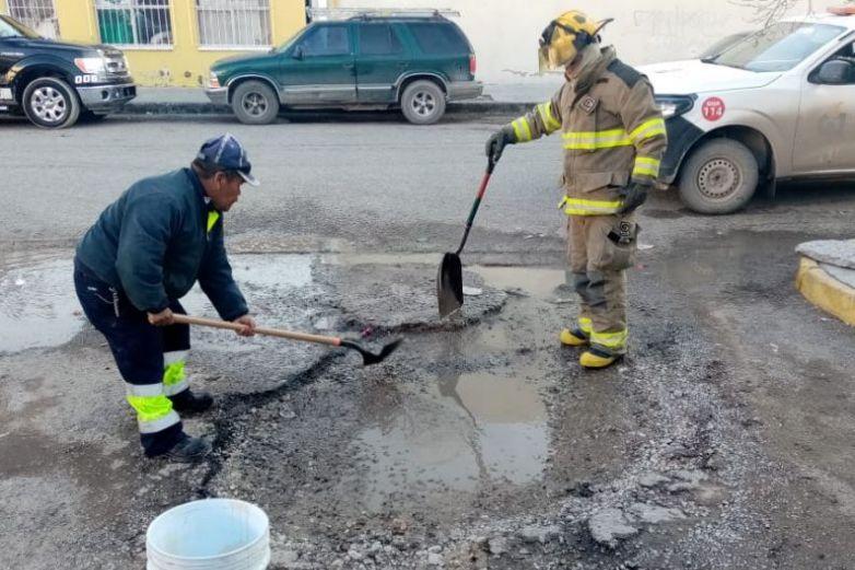 Se registra fuga de gas subterránea