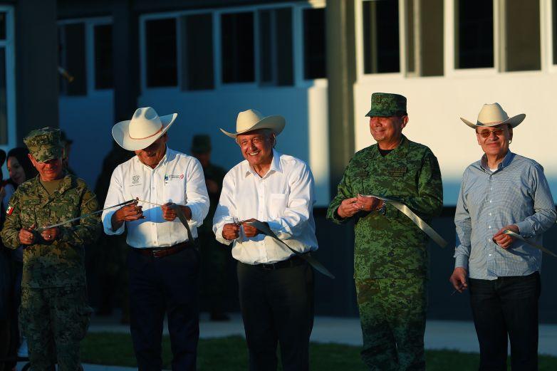 Inauguran primeras instalaciones de la GN en el país