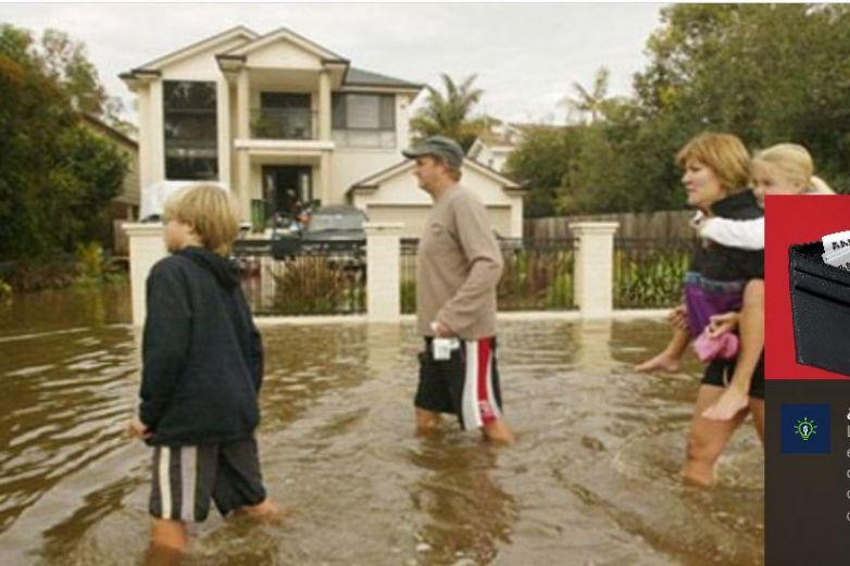 Emiten 230 alertas de inundación en Inglaterra