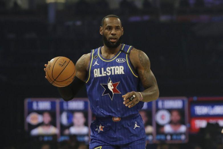 Equipo LeBron gana el Juego de las Estrellas de la NBA