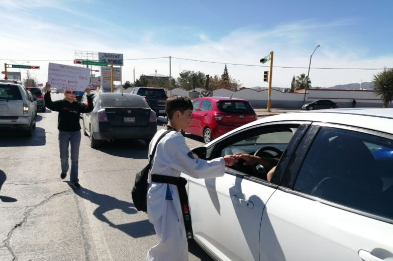 Atleta juarense 'botea' para ir a torneo mundial de Taekwondo