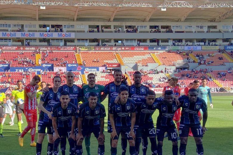 Querétaro vuelve al triunfo a costa de Necaxa
