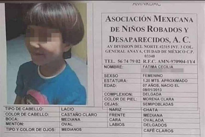 Necropsia no arroja robo de órganos en caso Fátima: fiscal