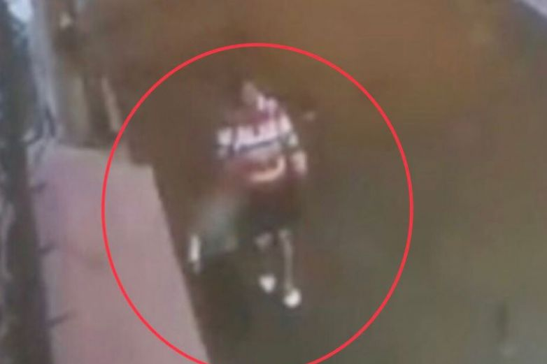 Captan el momento en que Fátima fue secuestrada