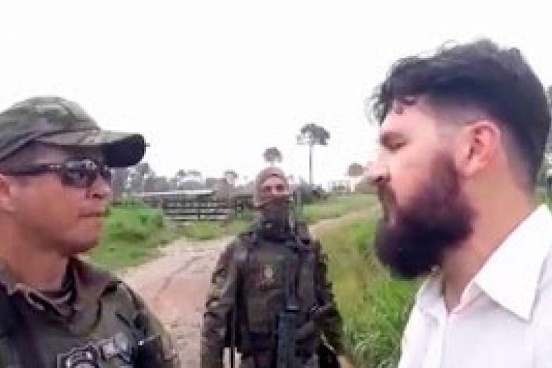 Detienen a antropólogo bolsonarista por impedir protección ambiental