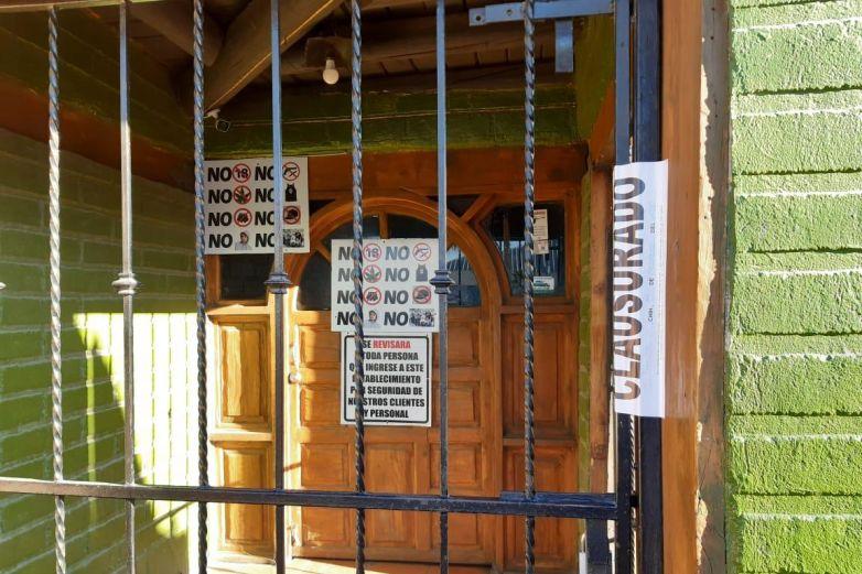 Clausura Gobernción7 establecimientos en Ahumada por falta de permisos