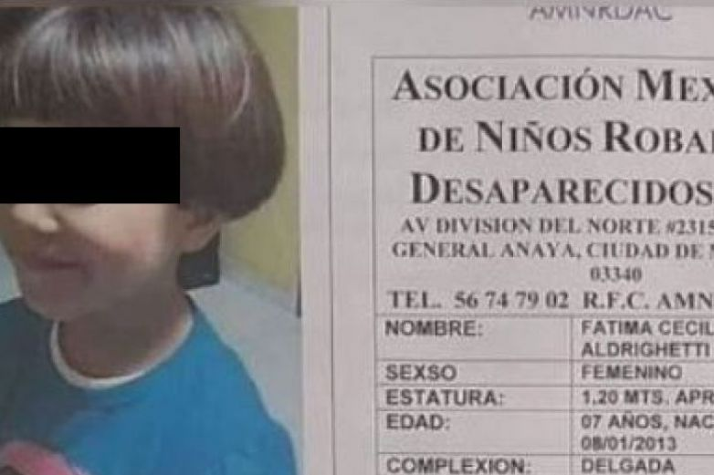 Investigan a escuela por desaparición de niña Fátima