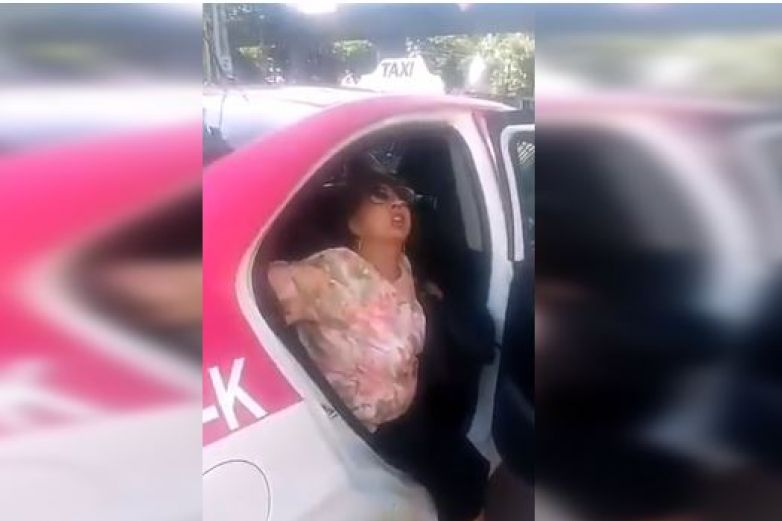Mujer asegura que taxis llevan cadáveres para no pagar