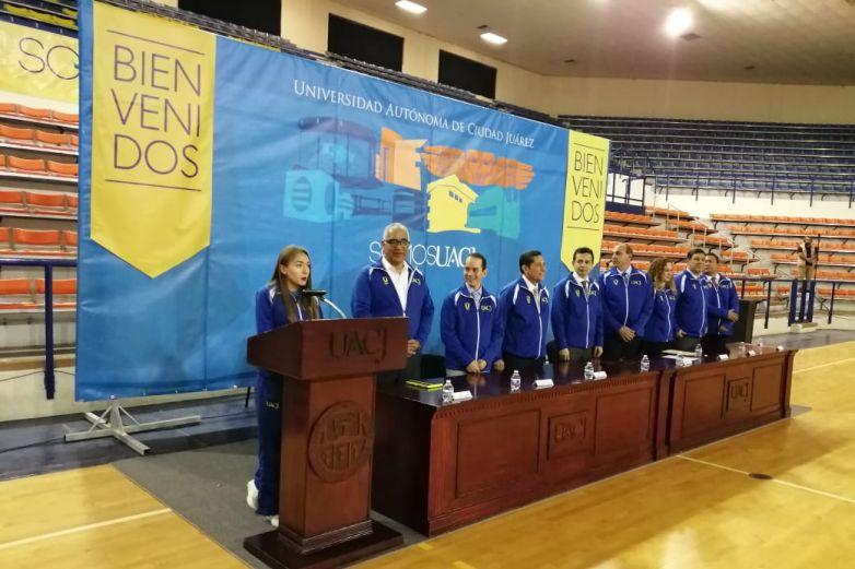 Van más de 350 atletas de la UACJ a Universiada Nacional 2020