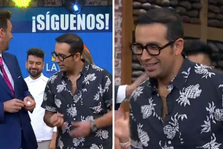 'El Capi' da orden al chef Mariano y lo humilla en vivo en 'Venga La Alegría'