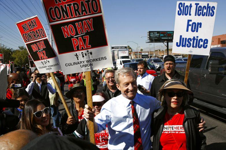 Evitan demócratas tema de inmigración de cara a Nevada