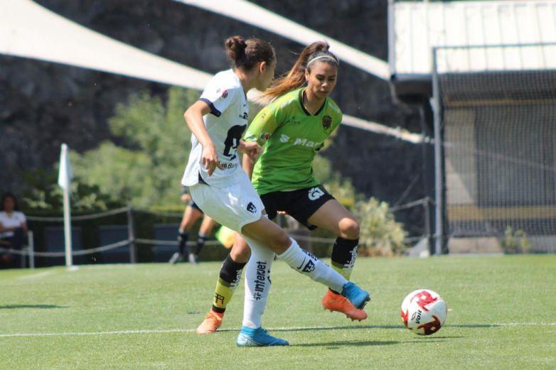 Pumas sufre pero al final vence a Juárez en Liga Femenil
