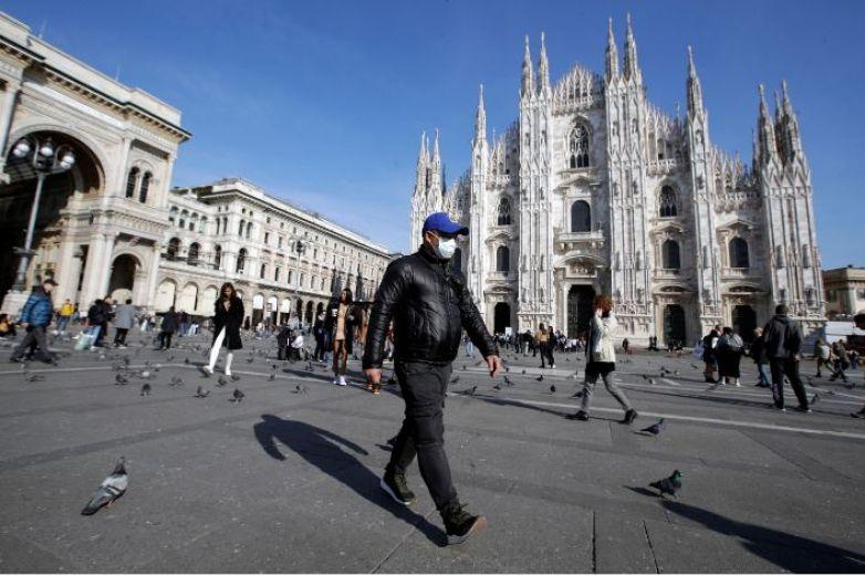 Llega Italia a 100 mil casos de Covid-19 con tendencia a la baja
