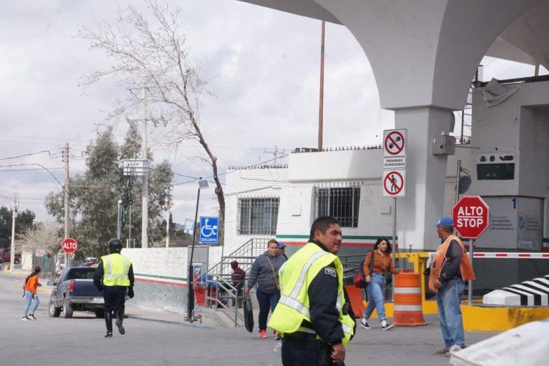 Cierran puente Santa Fe por simulacro del CBP