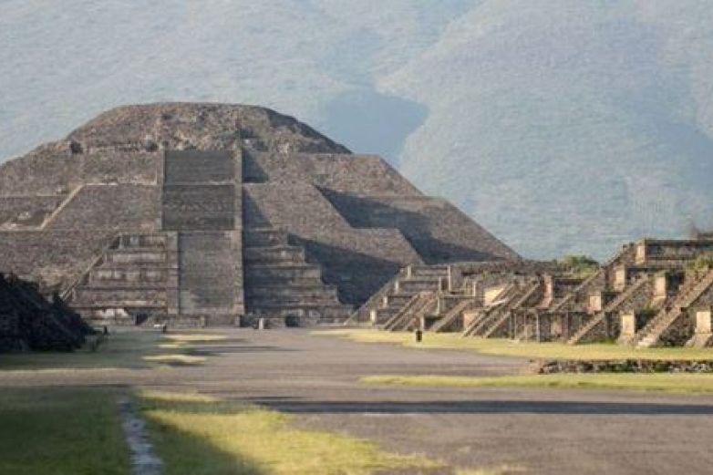 Hallan uso de cinabrio y hematita en murales tempranos de Teotihuacán