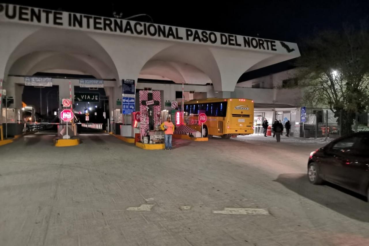 Reporte de puentes internacionales cd juarez en vivo