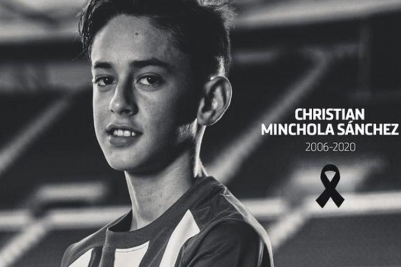 Fallece Christian Minchola, canterano del Atlético de Madrid