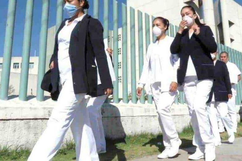 Van 46 mil 13 contagiados de Covid en el sector médico en el país