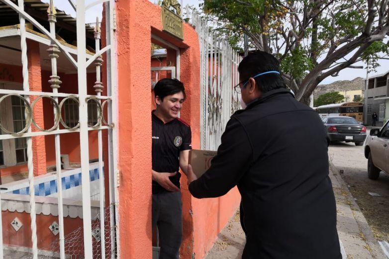 Reparte Municipio despensas ante crisis sanitaria por Covid-19