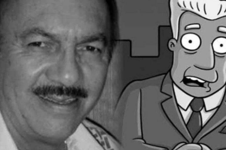 Fallece Gonzalo Curiel, voz de Kent Brockman