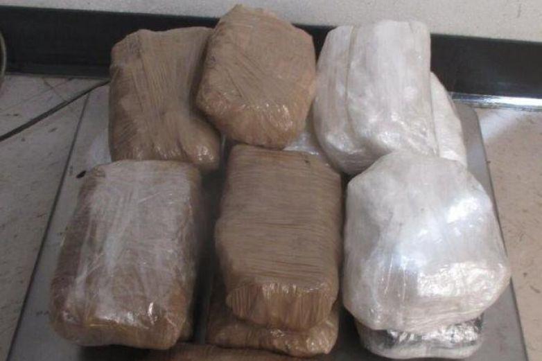 Confiscan cargamento de metanfetamina en el puente Zaragoza