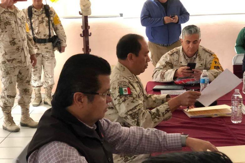 Participa alcalde en mesa de trabajo del Plan DN III