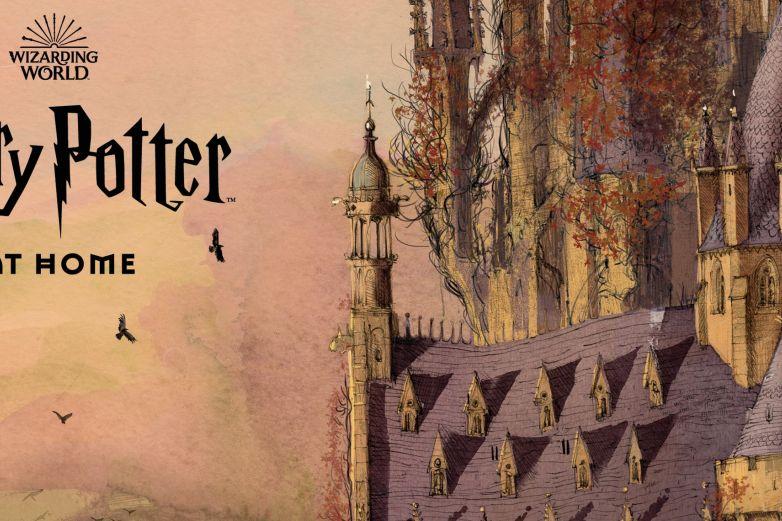 J.K. Rowling estrena 'Harry Potter en casa' para los niños en cuarentena