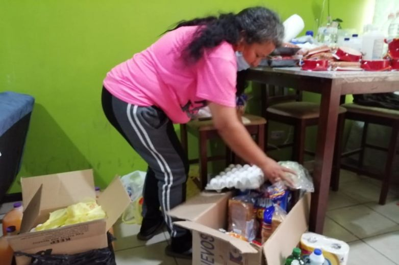 Vende juguetes para apoyar a familias con despensas
