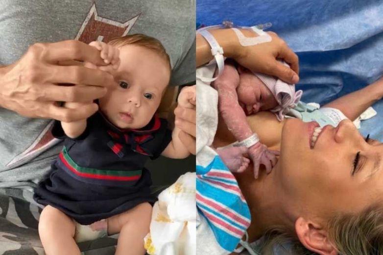 Pareja de Enrique Iglesias revela foto inédita de su bebé