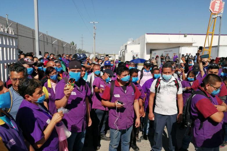 Para pandemia a casi 60 mil trabajadores en Juárez
