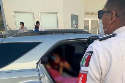 Escolta Seguridad Vial a vehículo que trasladaba a paciente