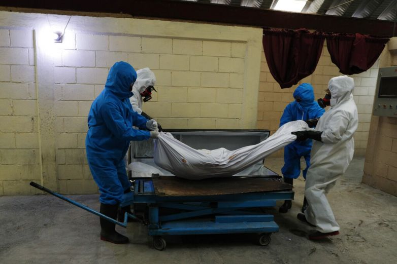 Llega México a casi 7 mil muertos por Covid-19