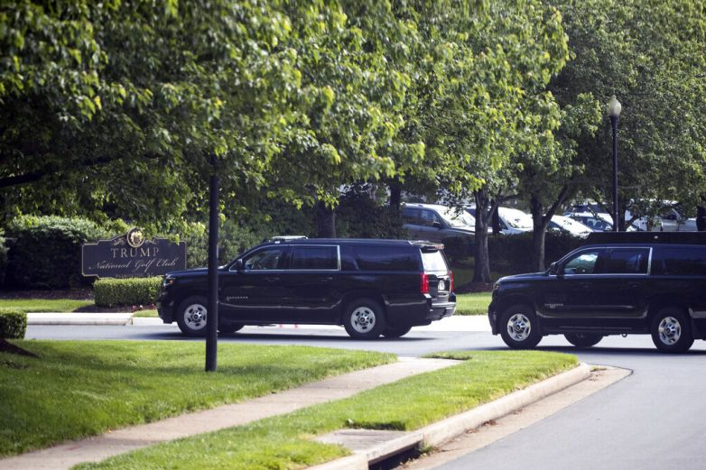 Trump juega golf por primera vez desde emergencia nacional