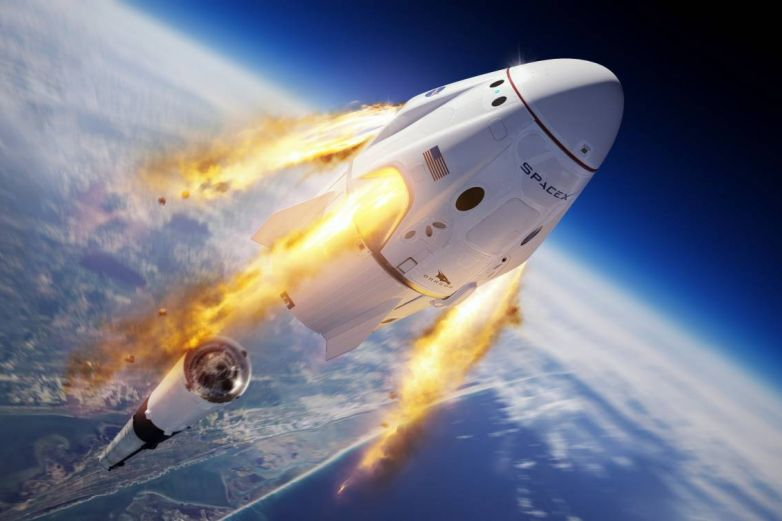 No te pierdas el lanzamiento del primer cohete tripulado de SpaceX y la NASA