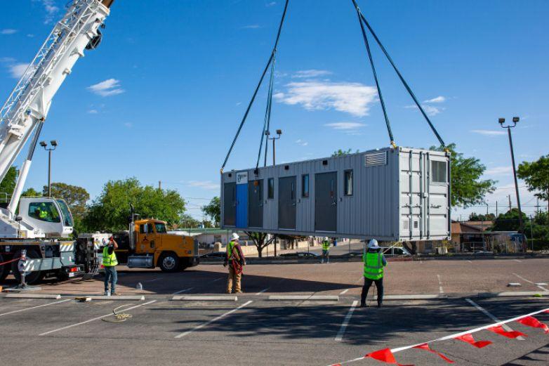 Habilitan unidad móvil para hacer pruebas Covid en El Paso