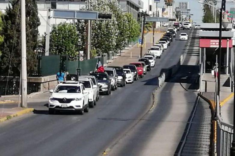Marchan en Chihuahua contra gobierno de AMLO