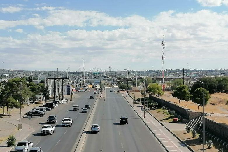 Reportan poco tráfico en puentes internacionales