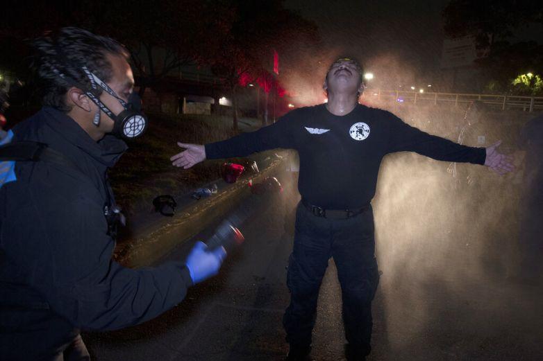 Así viven paramédicos la emergencia por el Covid en México