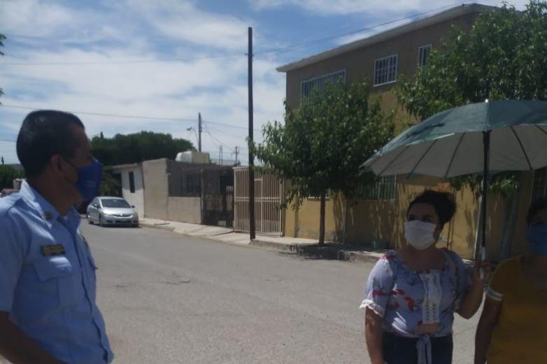 Bomberos piden a juarenses quedarse en casa
